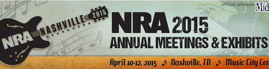 Going to the NRA Show in Nashville? Stop in and say hi!