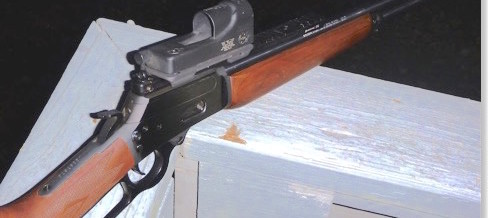 "Ed Harris says: ""A Hillbilly Assault Rifle? You bet!"""