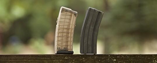 The Bullpup Rifle Experiment, Epilogue: the Steyr AUG magazine choice – do you prefer Original or Less Reliable?