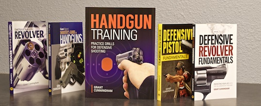 My new book of defensive shooting drills, HANDGUN TRAINING, is almost here!