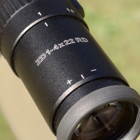 Meopta MeoTac 1-4x22 RD Tactical Scope