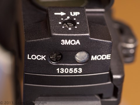 Meopta M-RAD adjustment lock