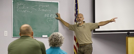 What if you disagree with your defensive shooting instructor?