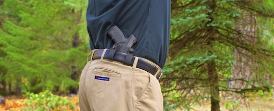 Don't like your holster? Try changing your pants!