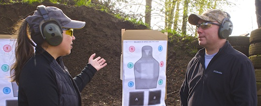 The important role of a training partner in your defensive shooting skill development.