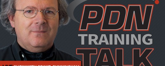 The new episode of PDN Training Talk is just two days away!