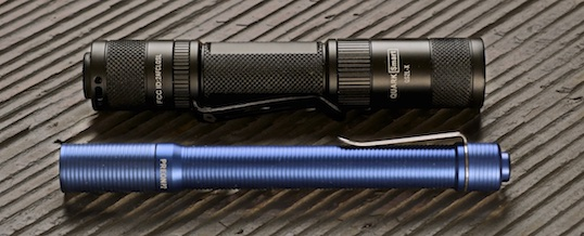 Flashlight Review: FourSevens Preon P2 and lithium Quark Smart