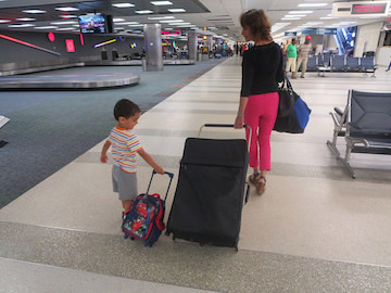 Fort Lauderdale airport baggage claim area