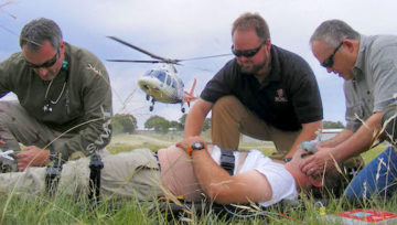 Caleb Causey of Lone Star Medics